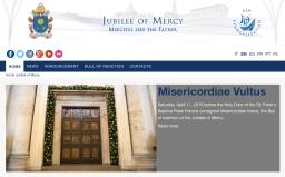 Vaticaan lanceert website voor Jaar van Barmhartigheid
