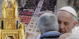 Paus: 'God zal de tranen van onze ogen afwissen'